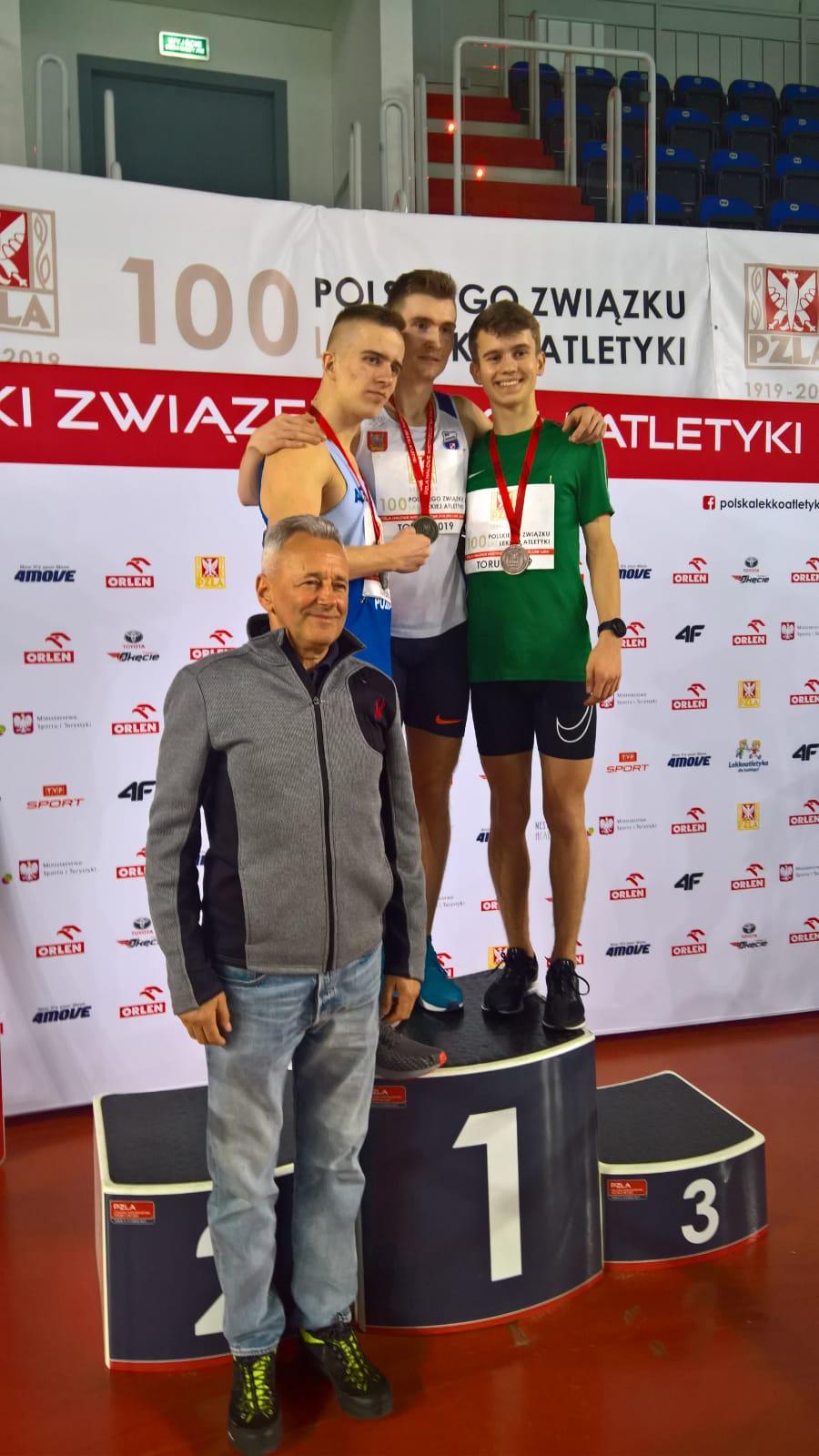 Michał Pytel-Trener Jarosław Janeczek
